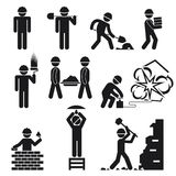 Construction icons Royalty Free Stock Images