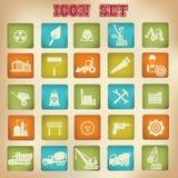 Construction icons.  Stock Photos