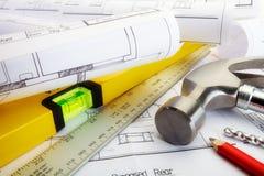 Construction immobilière Photographie stock