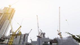 Construction, industrie, fond Photos stock