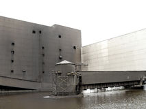 Construction industrielle photographie stock