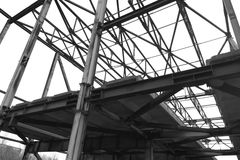 Construction industrielle Photo stock