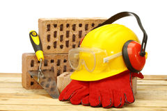 Construction industry concept Royalty Free Stock Photos
