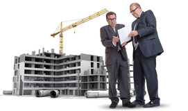 Construction industry corruption Stock Photos
