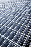 Construction Industry Metal Grid Plates Royalty Free Stock Image