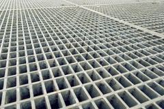 Construction Industry Metal Grid Plates Stock Images