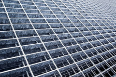 Construction Industry Metal Grid Plates Stock Image