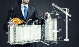 Construction industry Stock Photos