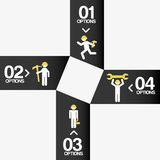Construction infographic Stock Photography