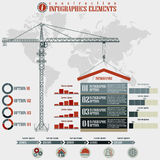 Construction  Infographics elements Stock Photography