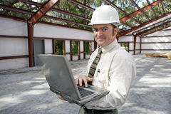 Construction Inspector Online Royalty Free Stock Images