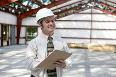 Construction Inspector - Satisfied Royalty Free Stock Photos
