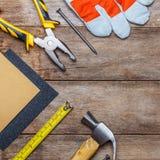 Construction instruments Royalty Free Stock Photo