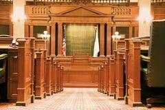 Construction intérieure de capitol d'état Images stock