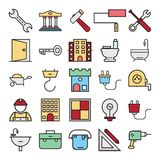 Construction Isolated Vector icon that can be easily edit or modified. stock illustration