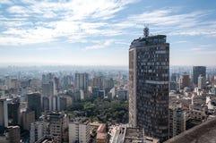 Construction italienne à Sao Paulo du centre Photos libres de droits