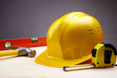 Construction items Royalty Free Stock Photography