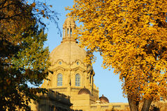 Construction législative d'Alberta Photographie stock