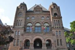 Construction législative d'Ontario Image stock