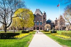 Construction législative d'Ontario Images stock