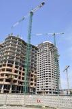 Construction. La communauté résidentielle Photographie stock