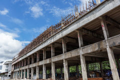 The construction of large buildings Royalty Free Stock Photography