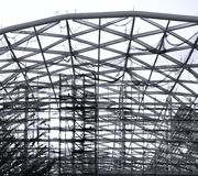 Construction of a Large Hall Stock Photography