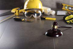 Free Construction Law. Royalty Free Stock Image - 96713806