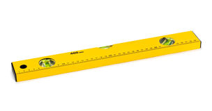 Construction level ruler Royalty Free Stock Images