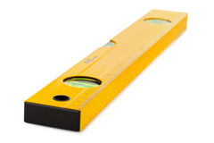 Construction level ruler Stock Photo