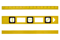 Construction Level Tool with Different Views stock photo