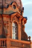 Construction législative au coucher du soleil Image libre de droits