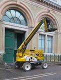 Construction lift Stock Image