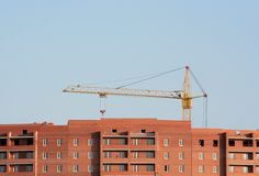 Construction, lifting crane Stock Image