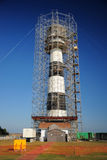 Construction lighthouse Royalty Free Stock Images