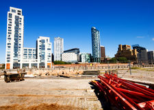 Construction in Liverpool Royalty Free Stock Photo