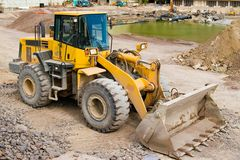 Construction Loader Royalty Free Stock Photography