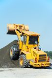 Construction loader excavator Royalty Free Stock Images