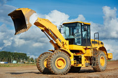 Construction loader excavator Royalty Free Stock Photos