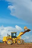 Construction loader excavator Stock Photo