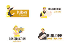 Construction logo Royalty Free Stock Image