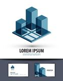 Construction. logo, icon, sign, emblem, template Royalty Free Stock Images