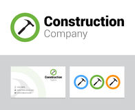 Construction logo Royalty Free Stock Photos