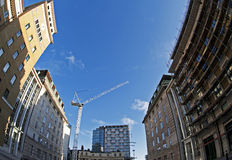 Construction in London Royalty Free Stock Photography