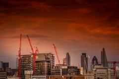 Construction Londres Images libres de droits