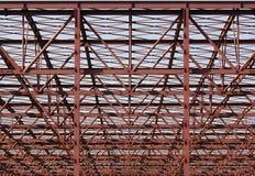 Construction métallique - format CRU images libres de droits