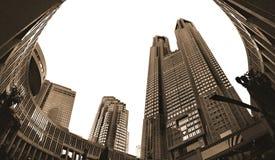 Construction métropolitaine de gouvernement de Tokyo Photographie stock libre de droits