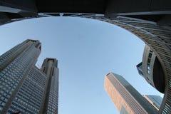 Construction métropolitaine de gouvernement de Tokyo Photo libre de droits