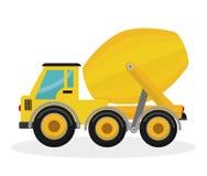 Construction machinary design. stock illustration