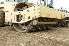 Construction machine Stock Photography